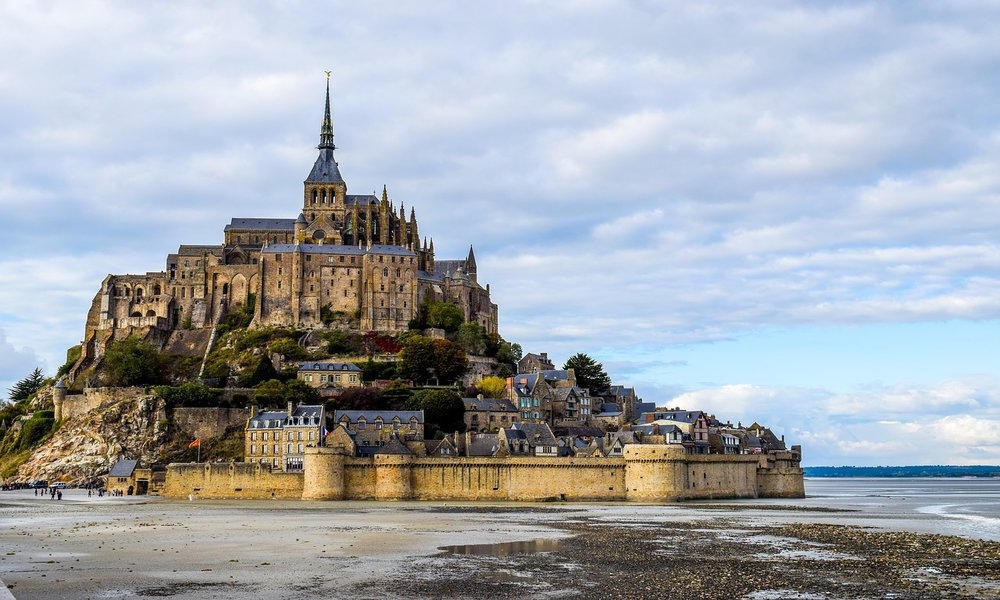 Mont Saint Michel, in Francia